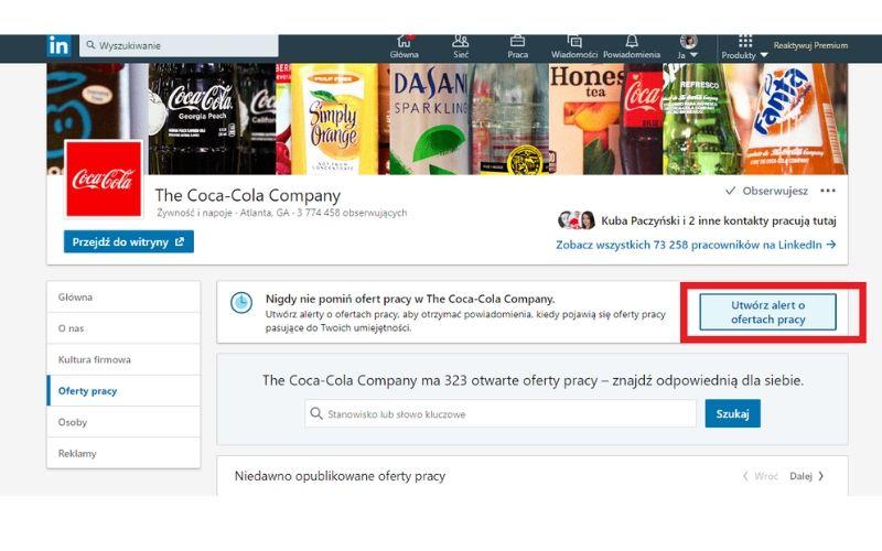 Obrazek pokazuje, jak dostawać nowe oferty pracy na maila.
