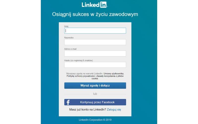 Jak założyć profil na LinkedIn?