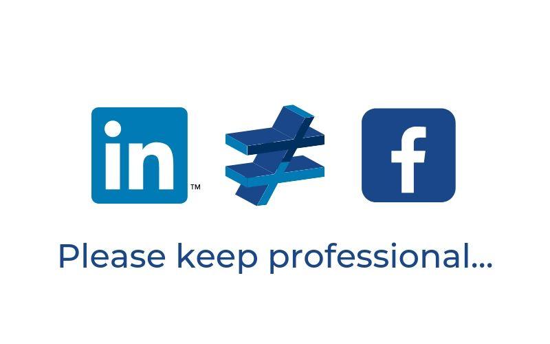 LinkedIn to nie Facebook, etykieta, zasady, które mówią, aby być profesjonalnym