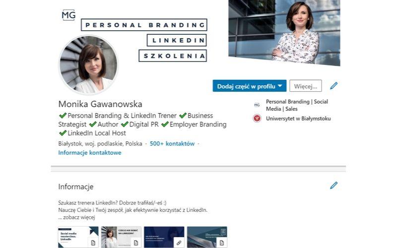 Jak wygląda profil osobowy na LinkedIn?