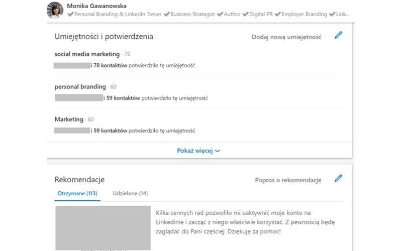 Jakie elementy profilu na LinkedIn poprawiają jego wiarygodność?