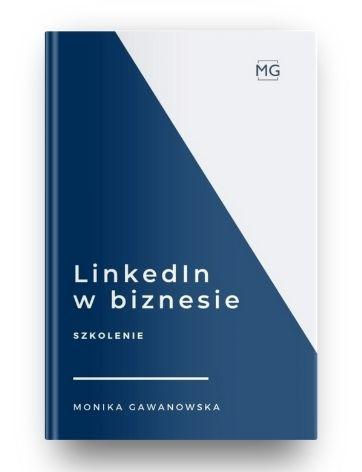 LinkedIn w Biznesie to kurs, który prowadzi Monika Gawanowska. Podczas szkolenia uczy, jak skutecznie wykorzystać portal w sprzedaży, zdobywaniu kontaktów.