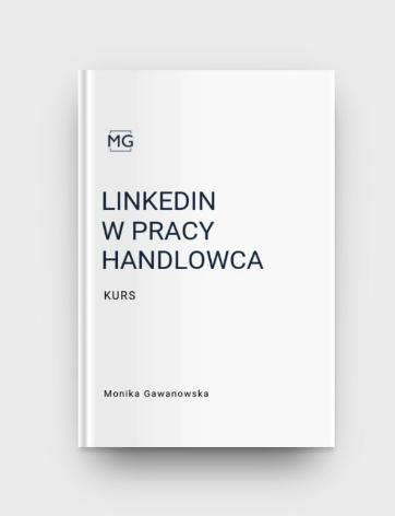LinkedIn w pracy handlowca to szkolenie, które prowadzi Monika Gawanowska, dedykowane sprzedawcom. Uczy, jak prowadzić sprzedaż na LinkedIn.